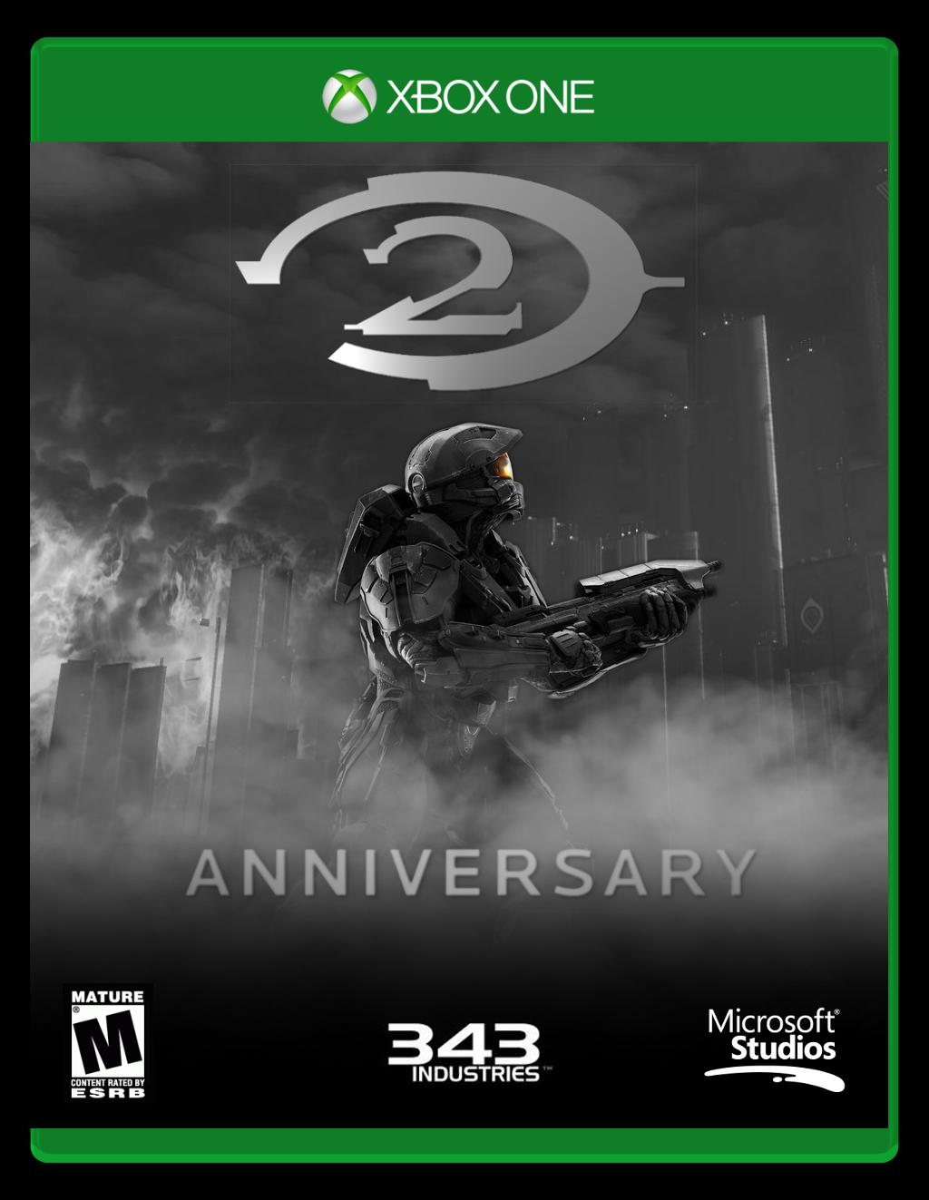 Halo 2 Anniversary [Box Art] by F1yingPinapp1e