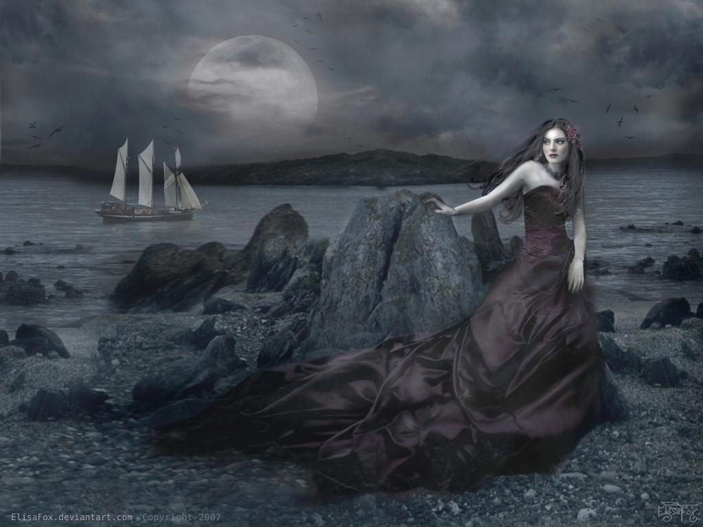 Dark Princess of the Seashore by elisafox