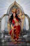 - Goddess Lakshmi - by elisafox
