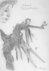 Edward Scissorhands by Zerodomon