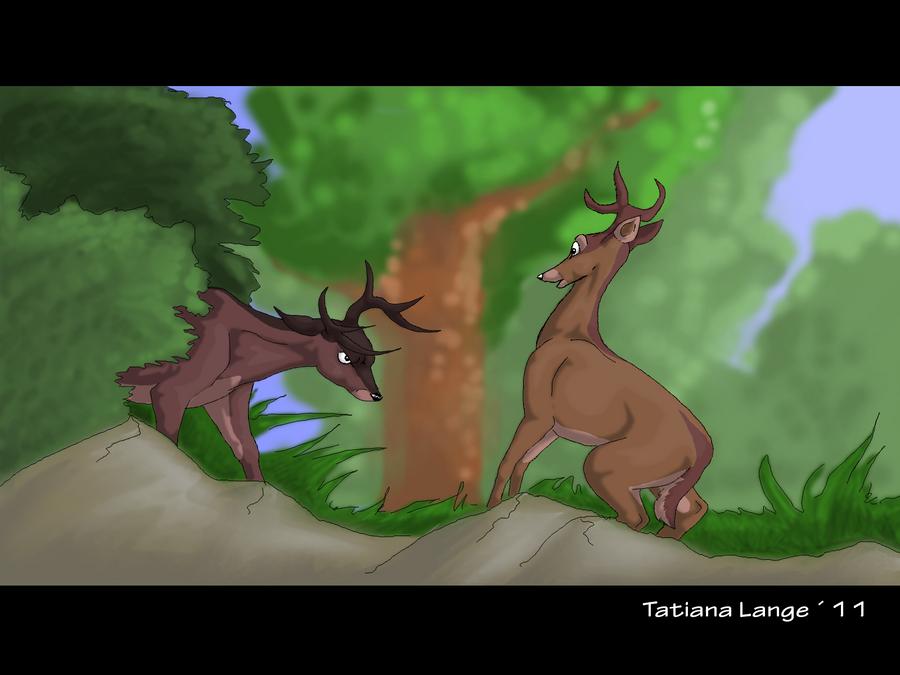 Bambi Movie Scene Bambi__movie_scene_by_tatiilange-d3a8em3