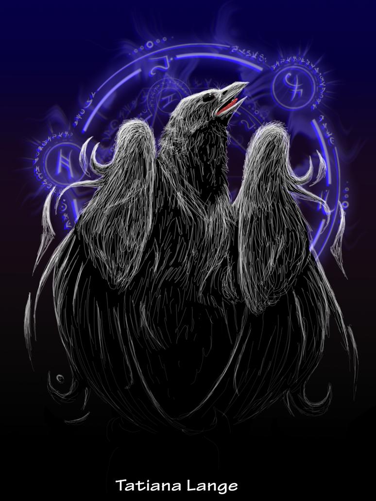 White Raven White_raven_by_tatiilange-d3hmusf