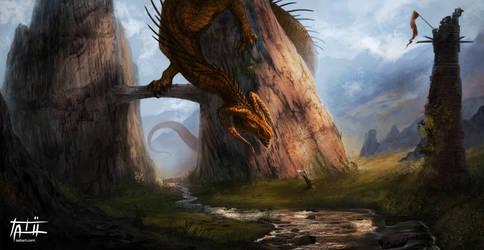 You dare enter my realm...