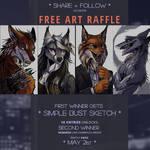 ART RAFFLE --- CLOSED --- WINNER ANNOUNCED! by tatiilange