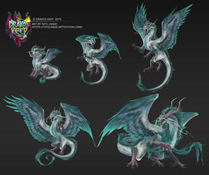 DrakosKeep Dragon 1 Set
