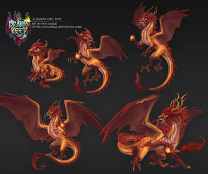 DrakosKeep Dragon 2 Set