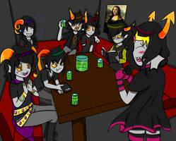 Fantroll party by fancycat27