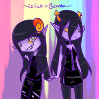 Leilah and Becena Icon by fancycat27