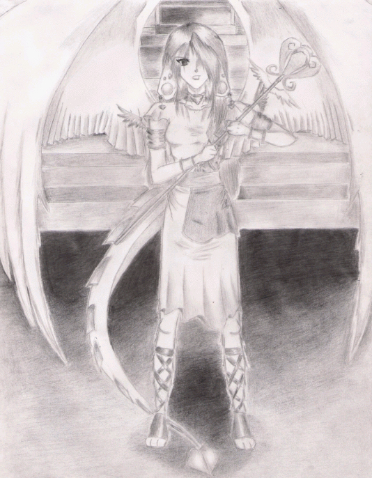 Mermard   Wind Goddess By Goddessnemesis by GoddessNemesis