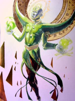 Green Mystic by GoddessNemesis