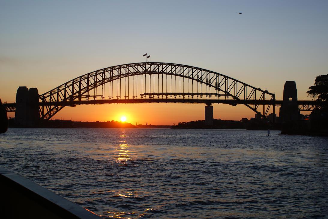 Sydney Sunset by SinisterThief