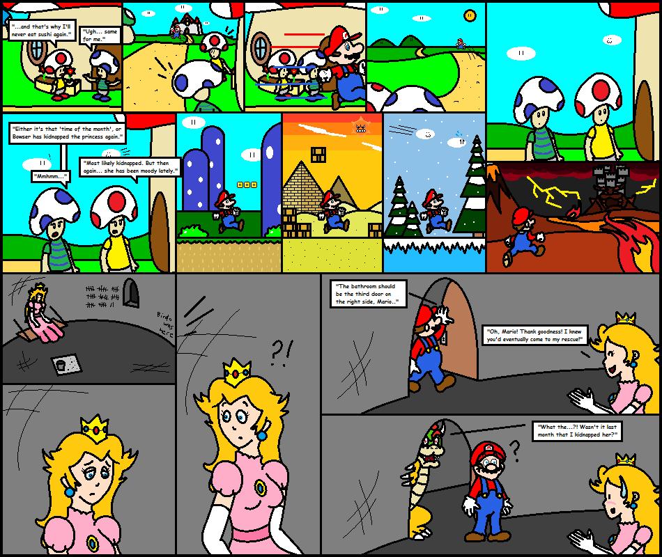 Super Mario Comic 1 Alternate Ending 2 By