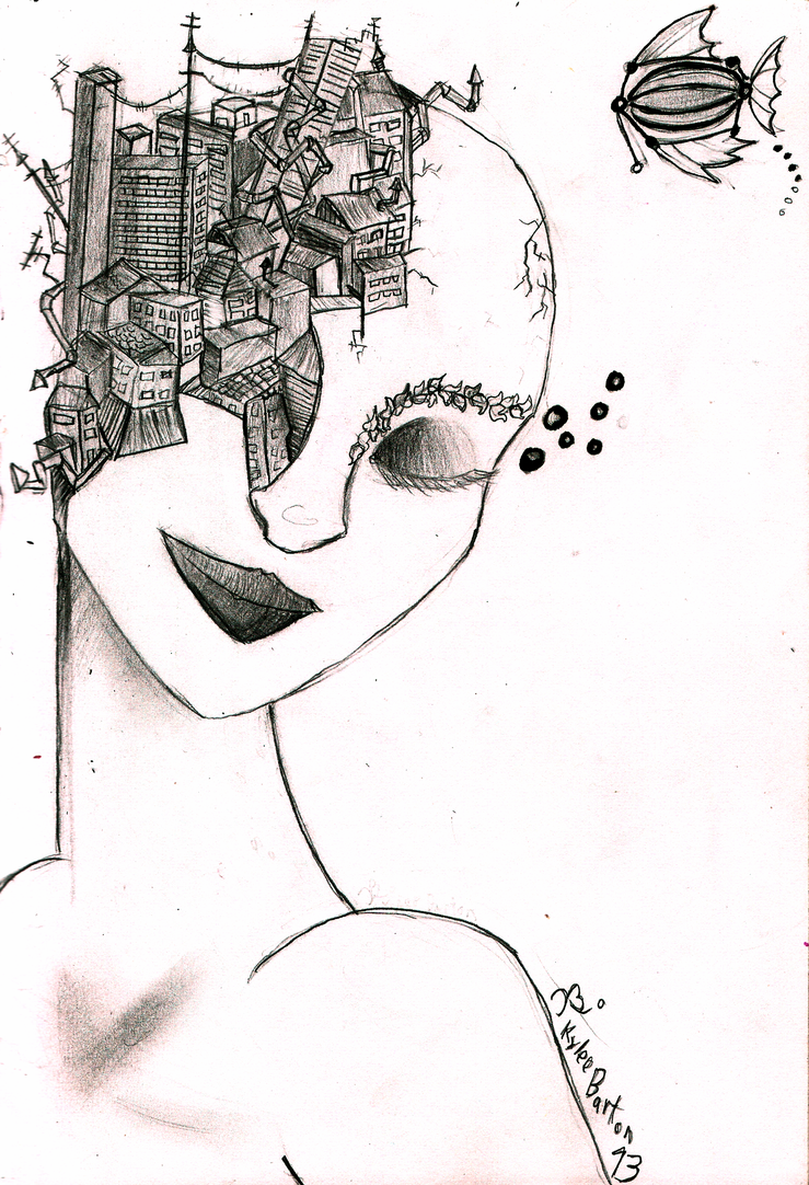 Melancoly of the Daydreamer by disneyangel89