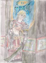 Reks on guard by disneyangel89