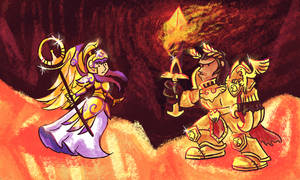 Athena vs the God Emperor
