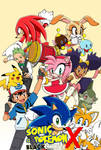 Sonic and Pokemon BW X New Poster