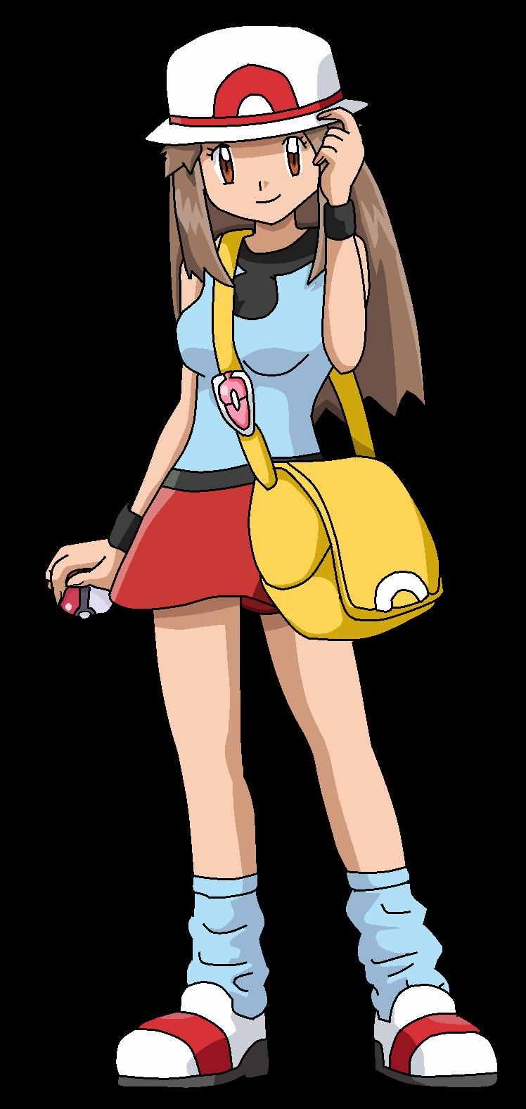 Anime Characters As Pokemon : Leaf pokemon anime artwork by aquamimi on deviantart