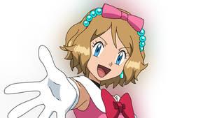 Pokemon XY Serena Aim to be a Kalos Queen by Aquamimi123