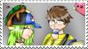 RQ - PKMN Kiro X Cathy Stamp by Aquamimi123