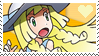 PKMN Sun and moon - Lillie Stamp by Aquamimi123