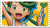 PKMN Sun and moon - Mallow Stamp by Aquamimi123