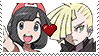 PKMN Sun and moon - LonaShipping stamp by Aquamimi123