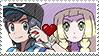 PKMN Sun and moon - ShiningsunShipping stamp by Aquamimi123