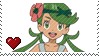 PKMN Sun and moon - Another Mallow Stamp by Aquamimi123