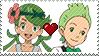 PKMN Stamp - CookingGrassShipping Stamp