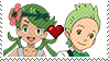 PKMN Stamp - CookingGrassShipping Stamp by Aquamimi123
