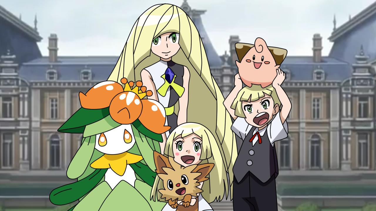 Pokemon Sm Anime Lillie S Family 652718423