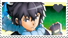 Pokemon XYZ - Alain stamp by Aquamimi123