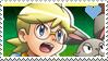 Pokemon XYZ - Clemont stamp by Aquamimi123
