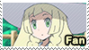 PKMN Sun and moon anime - Lillie Fan Stamp by Aquamimi123