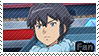 PKMN XY - Alain fan stamp by Aquamimi123
