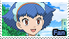 PKMN XY - Miette fan stamp by Aquamimi123