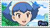 PKMN XY - Miette fan stamp by Aquamimi123
