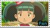 PKMN XY - Nini fan stamp by Aquamimi123