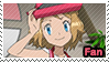 PKMN XY - Serena newest design fan stamp by Aquamimi123