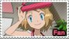PKMN XY - Serena newest design fan stamp by Aquamimi123