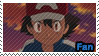 PKMN XY - Ash fan stamp by Aquamimi123