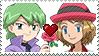 PKMN Stamp - Romanticshipping stamp by Aquamimi123