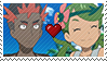 PKMN SM anime - another Spiceshipping Stamp by Aquamimi123