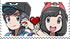 PKMN Sun and moon - EclipseShipping stamp by Aquamimi123