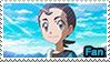 PC - Makoto M20 Fan Stamp by Aquamimi123
