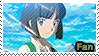 PC - Souji M20 Fan Stamp by Aquamimi123