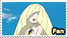 Lusamine (Anime) - fan stamp by Aquamimi123