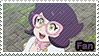 Wicke (Anime) - fan stamp by Aquamimi123