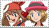 PC - PKMN CrimsonVelvetShipping Stamp by Aquamimi123