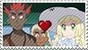 PC - PKMN Kiawe X Lillie Stamp by Aquamimi123